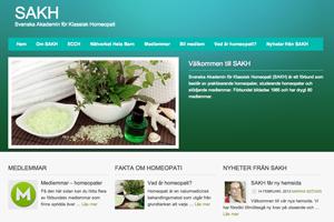 SAKH:s nya hemsida